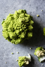 Close Up Of Romanesco Broccoli...