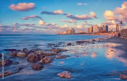 Waterfront Of Tel Aviv Fototapeta