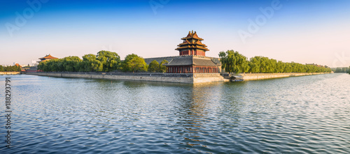 The Palace Museum (Forbidden City). Located in Beijing, China.
