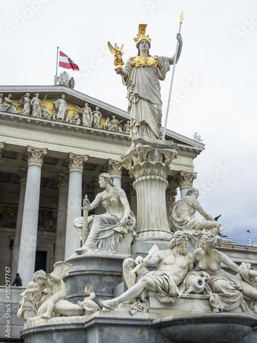 austria, vienna, parliament Poster