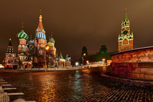 Christmas Night Moscow.