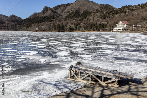 Foto op Aluminium Arctica 榛名湖 冬景色