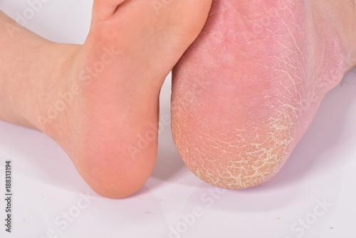 子供の足と大人の足 Fototapeta