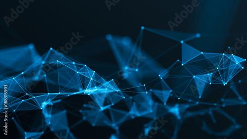 Fotografia  3d network technology in future