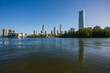 Gold Coast, Queensland/Australia - 15 January 2018: View across the Nerang River towards the Surfers Paradise skyline from the Isle of Capri.