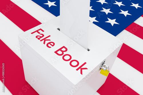 Photo  Fake Book concept