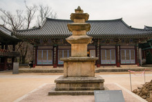 Three-story Stone Pagoda In To...