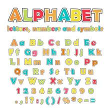 English Alphabet, Uppercase An...