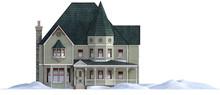 Modern Large Victorian House I...