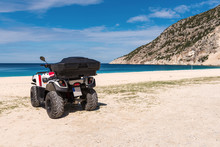 Quad Parked On The Beach Of My...