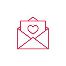 Valentine Day Card Envelope Th...