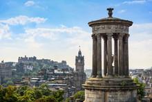View Of Edinburgh City From Ca...