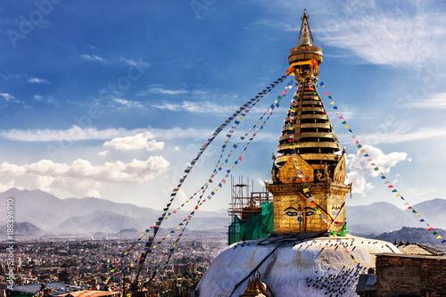 Photo  Swayambhunath, Kathmandu, Nepal