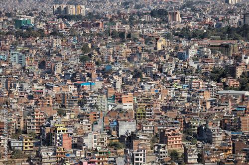 Kathmandu seen from Swayambhunath, Nepal