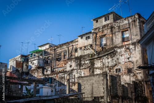 Photo The ruins of the beautiful city of Havana in Cuba