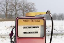 Old Fuel Dispenser