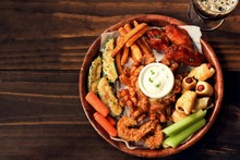 Game Day Platter With Appetizers