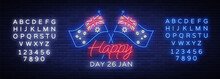 Happy Australia Day Neon Sign ...