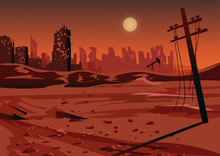 Landscape After A Nuclear War ...