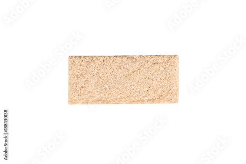 Fotografie, Obraz  A slice of light bread
