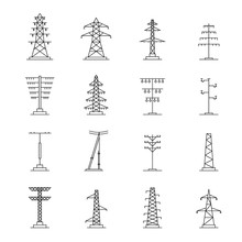 Electrical Tower High Voltage ...