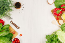 Healthy Vegetarian Ingredients...