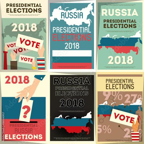 Fotografía russia presidential election