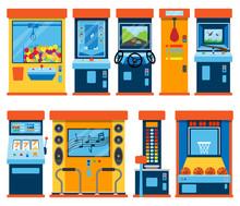 Game Machine Arcade Vector Gam...