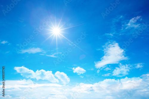 Fotografia sunny sky