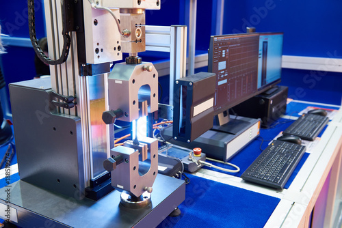 Electromechanical machines for testing materials for tensile, compression