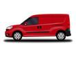 realistic cargo van. side view