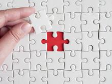 White Jigsaw Puzzle 6