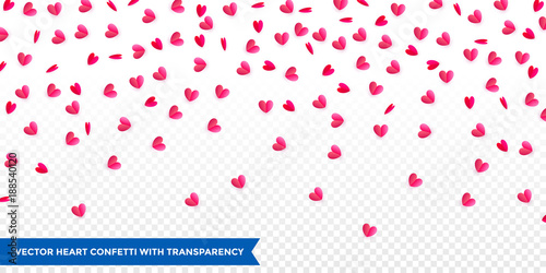 Hearts confetti pattern background for valentines day or wedding and hearts confetti pattern background for valentines day or wedding and birthday greeting card design template m4hsunfo