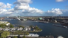 Aerial View Of Amsterdam City