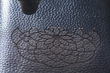 The Laser Makes Engraving In T...