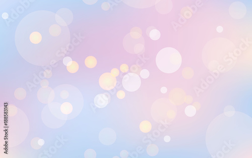 summer abstract blurred dream background with bokeh effect