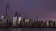 View of Manhattan at sunset