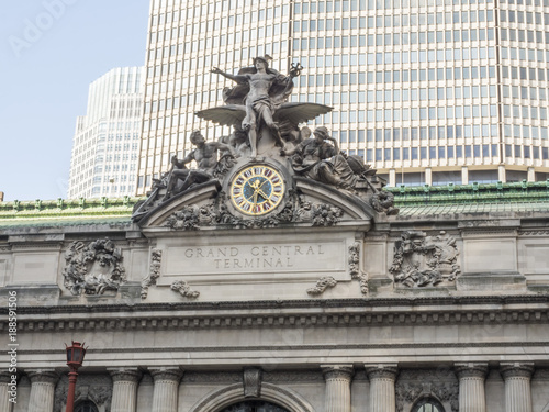 Photo  Grand Central Station Facade at New York City, NY, USA