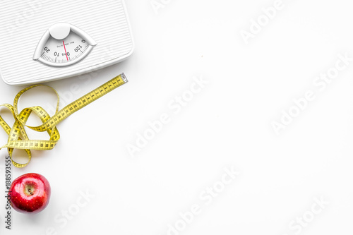 Fotomural  Lose weight concept