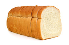 Sliced Bread Isolated On White Background