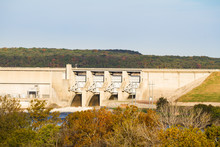 Harry S. Truman Dam In Missouri