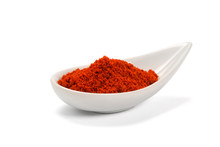 Bowl Of Ground Red Pepper Spic...