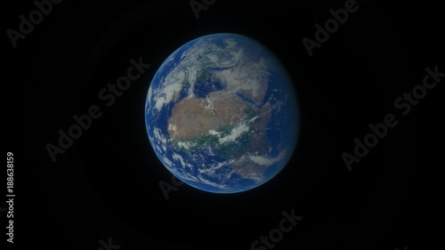 Fotografie, Tablou  Planet Earth from Space Africa and Middle East