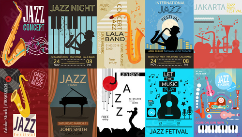 Photo Jazz Music Poster