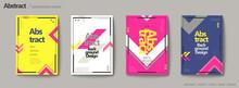 Geometric Style Brochure Set