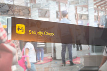 Double Exposure Of Security Ch...