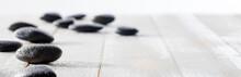 Massage Black Pebbles For Spir...