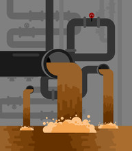 Underground Sewerage System Pi...