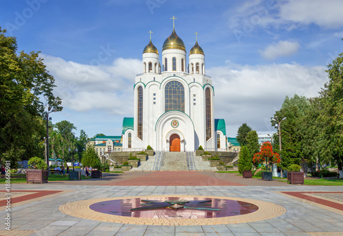 Fotomural  Cathedral of Christ the Saviour. Kaliningrad, Russia.