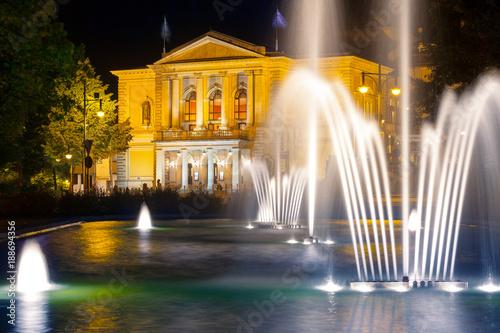 Spoed Foto op Canvas Theater Opernhaus Halle (Saale)
